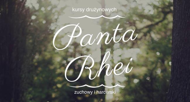"""Kurs drużynowych zuchowych i harcerskich """"Panta Rhei"""""""