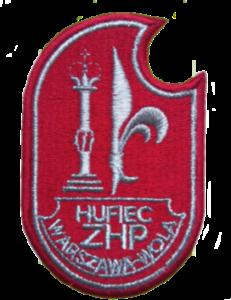 obrazek przedstawiający srebrną plakietkę hufca